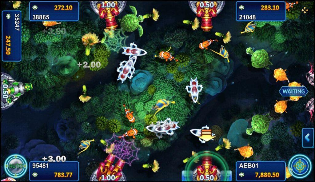 เกมยิงปลา Happy fish5